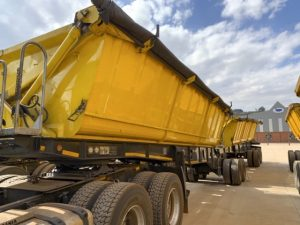 2015 TOP Trailer 40 Cube Interlink Side Tipper