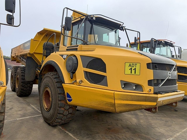 2014 VOLVO A35F ADT