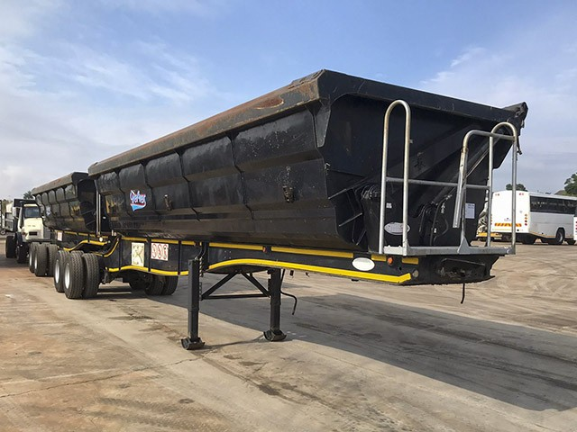 2017 SA TRUCK BODIES 40m³ SIDE TIPPER