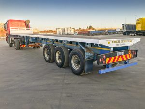 Used 2016 Ramkat Tri-axle Flat Deck 13m Trailer for sale